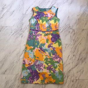 Floral EUC Boden Dress